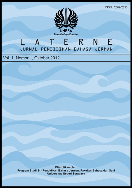 Jurnal Laterne: Jurnal S1 Pendidikan Bahasa Jerman
